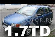 ДВИГАТЕЛЬ FIAT PUNTO 1999 1.7 TD + НАСОС ФОРСУНКИ