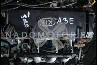 4197514 ДВИГАТЕЛЬ БЕЗ НАВЕСНОГО ОБОРУДОВАНИЯ KIA RIO КОМБИ (DC) 1.3 (08.2000-02.2005) 60 КВТ