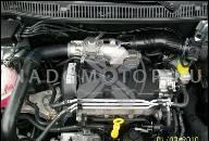 ДВИГАТЕЛЬ 1.4 MPI ДЛЯ SEAT INCA/IBIZA/AROSA И VW POLO/CADDY/LUPO ГОД ВЫПУСКА 1999 240 ТЫС KM