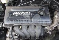 TOYOTA COROLLA 1.4 16V VVTI 01-09 ДВИГАТЕЛЬ E4Z-E32