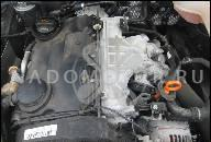 ДВИГАТЕЛЬ В СБОРЕ 2.0 8V AQY 115 Л.С. VW GOLF BORA 00Г. 240000 KM