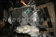 ДВИГАТЕЛЬ ENGINE BLS VW CADDY 1.9TDI 105PS 08Г. 80,000 KM