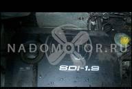 ДВИГАТЕЛЬ VW POLO LUPO AROSA 1.7 SDI AKU 44KW