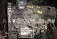 4376132 ДВИГАТЕЛЬ БЕЗ НАВЕСНОГО ОБОРУДОВАНИЯ VW PASSAT VARIANT (3B6) 1.9 TDI 4MOTION (11.2000- 220 ТЫС KM