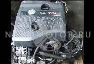 МОТОР + НАСОС ФОРСУНКИ VW POLO III LIFT 1.4 TDI FV