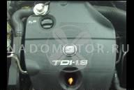ДВИГАТЕЛЬ 1.9 TDI ''BXJ'' 90 Л.С. VW GOLF V TOURAN CADDY