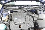 VW GOLF VENTO PASSAT POLO III 97 ДВИГАТЕЛЬ 1.6 8V KAT